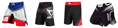 MMA shorts & free fight shorts