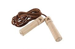 Corde à sauter en bois, ADI1107, Adidas
