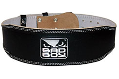 Leather Weight Lifting Belt, Bad Boy