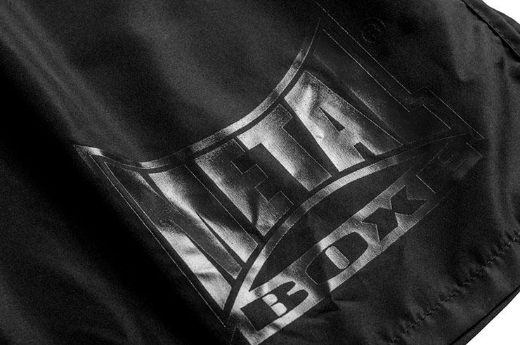 Muay Thai Boxing Shorts Black Light''TC67'', Metal Boxe