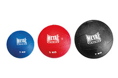 [Destock] Inflated Medecine Ball, Metal Boxe AC8610