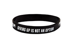 Bracelet Silicone - Giving up is Not an option, Venum