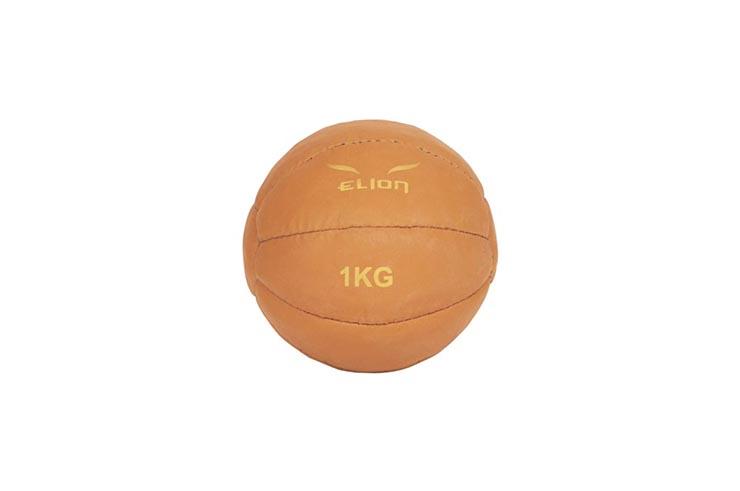"""Medecine Ball PU """"Black/Red"""", Elion"""
