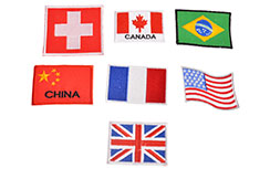 Countries Flag Badges