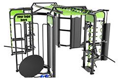 Cage Hexagonale Pro Circuit Training 2