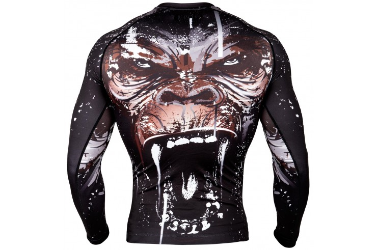 [Destock] Long sleeves rashguard - Black - XXL - Gorilla, Venum