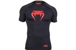 [End of stock] Compression T-shirt XL, Black/Red - Contender, Venum